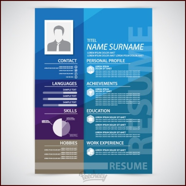 Download Resume Template Adobe Illustrator