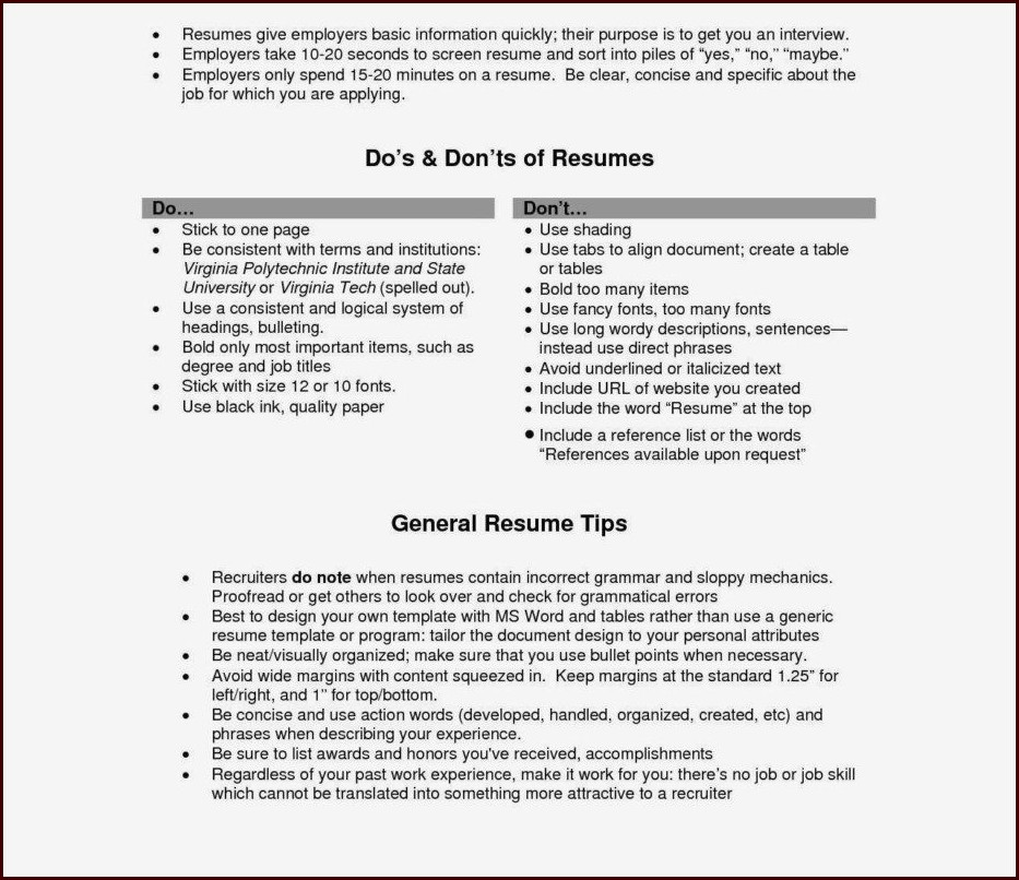 Resume Templates Html5 Free Download