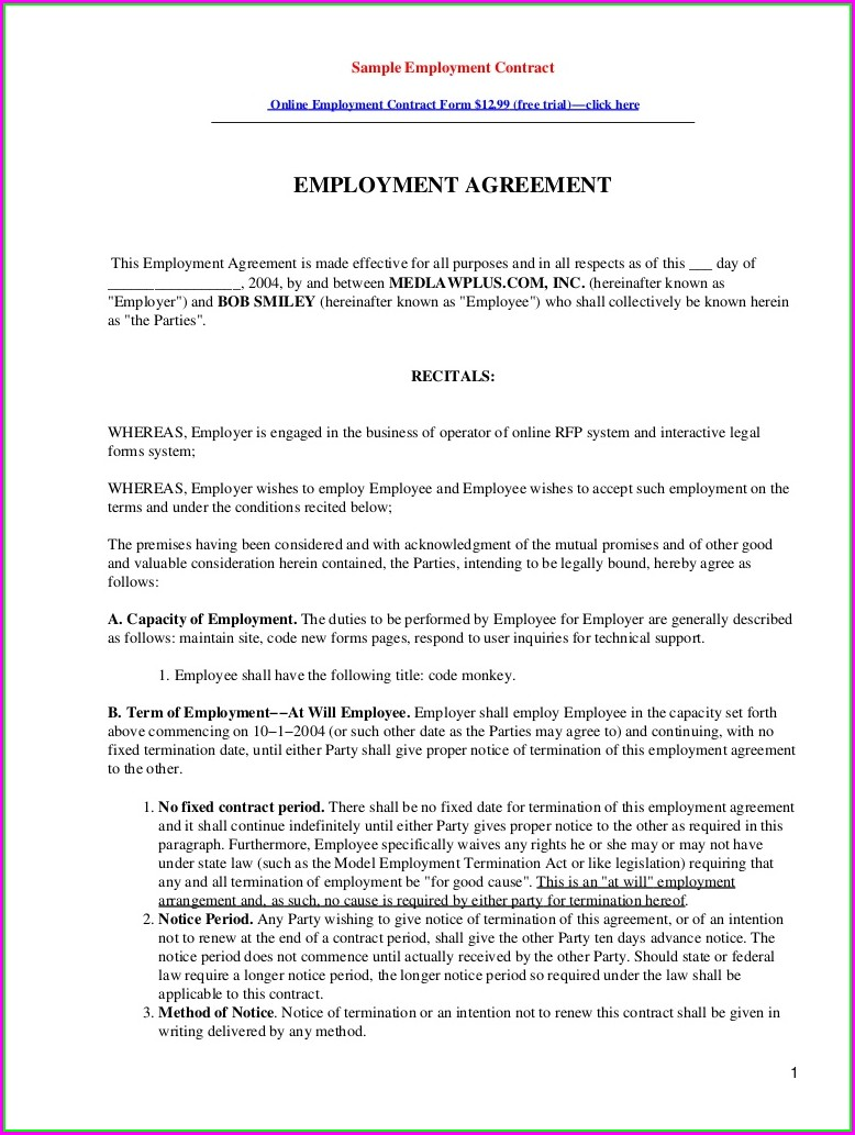 Divorce Settlement Agreement Template Canada