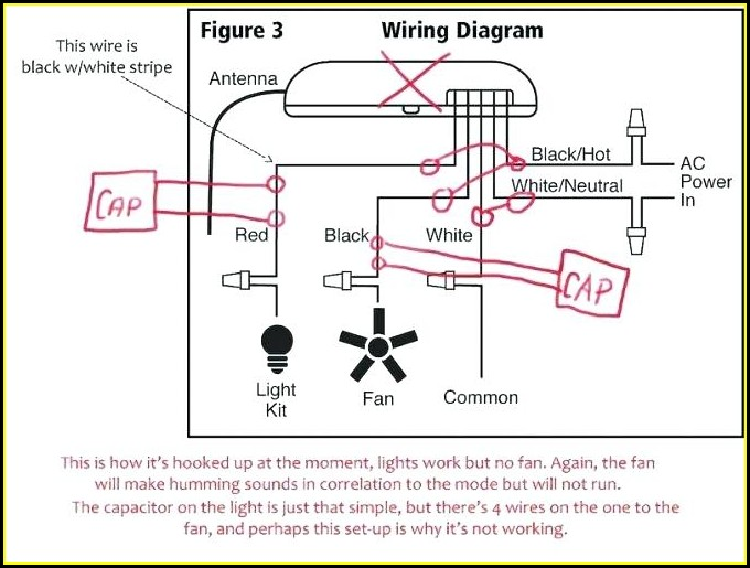Ceiling Fan Wiring Diagram Capacitor