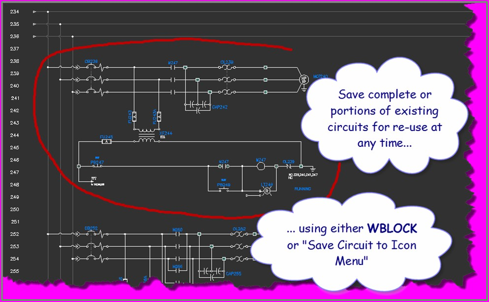 Electrical Wiring Diagram Symbols In Autocad