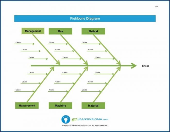 Fishbone Diagram Template For Word