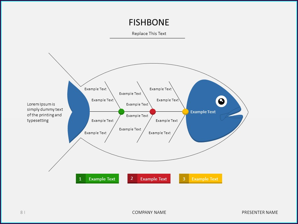 Fishbone Diagram Template In Ppt