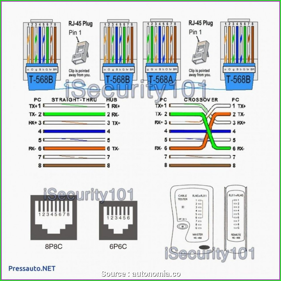 Rj45 Wiring Diagram Cat5e