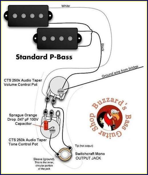 Bass Guitar Wiring Diagrams
