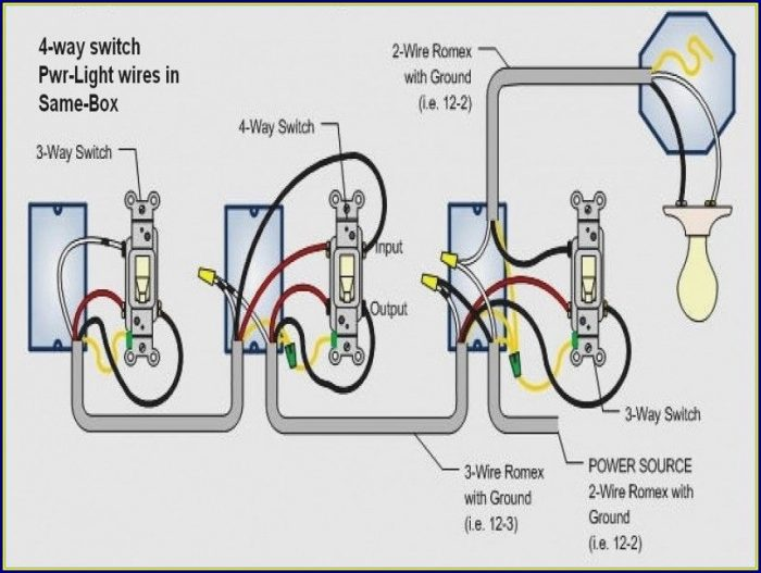 Electrical Wiring Diagram 3 Way Switch