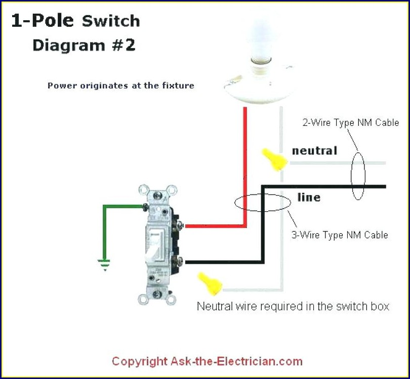 Electrical Wiring Diagram For Light Switch
