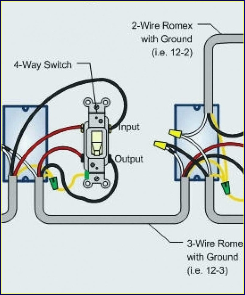Electrical Wiring Diagram Light Switch
