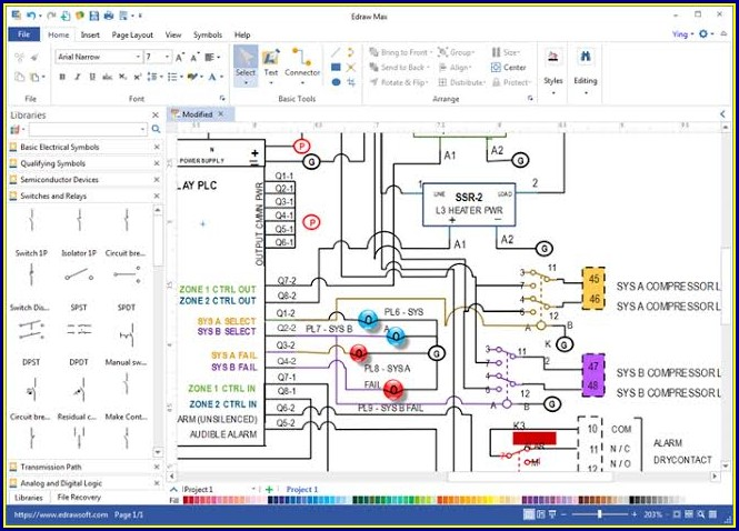 Electrical Wiring Diagram Software