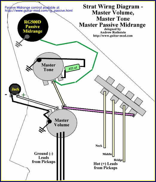 Strat Wiring Diagram Bridge Tone Control