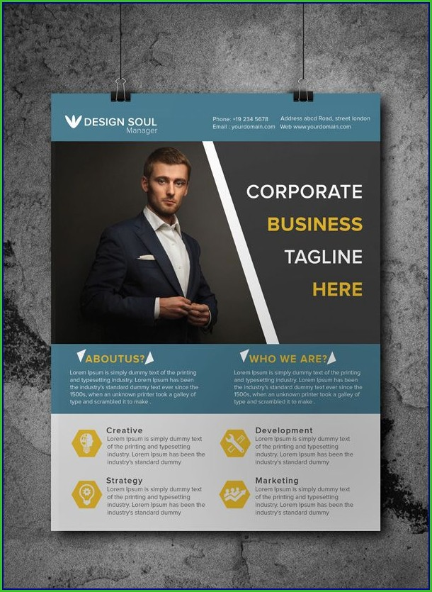 Free Business Flyers Templates