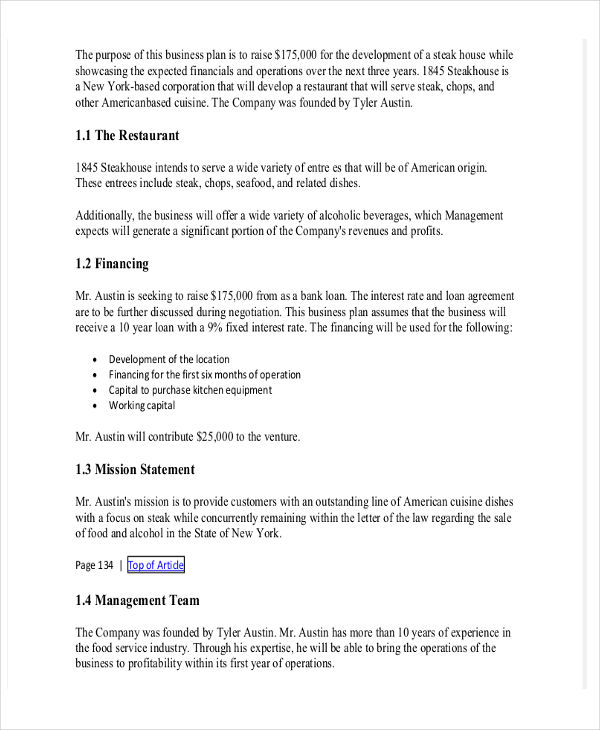 Purchase Proposal Template Word
