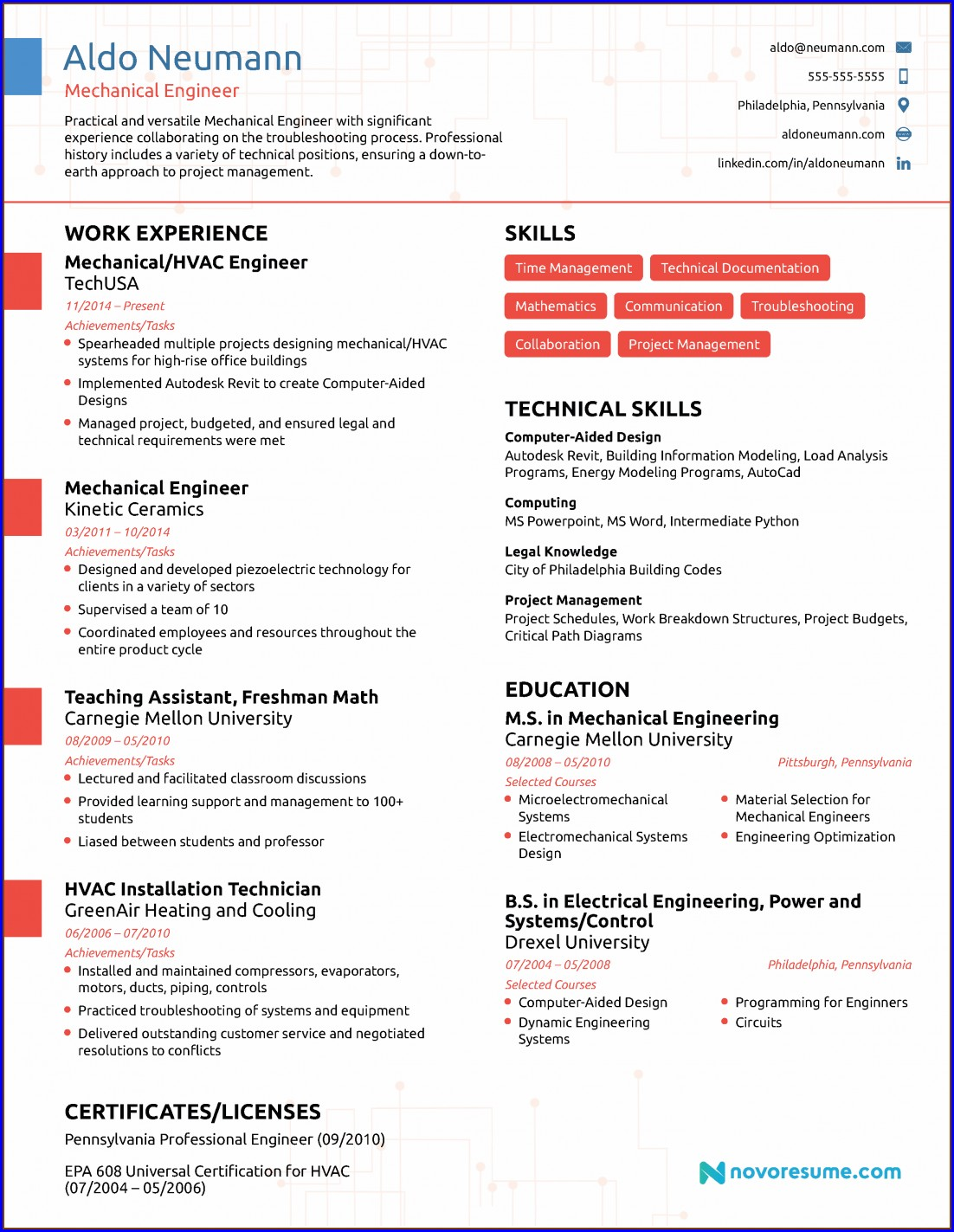 2019 Resume Templates Free Download