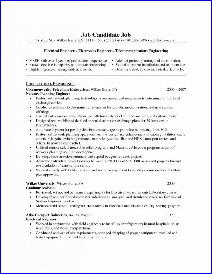 Cv Templates Free Download Microsoft Word Document