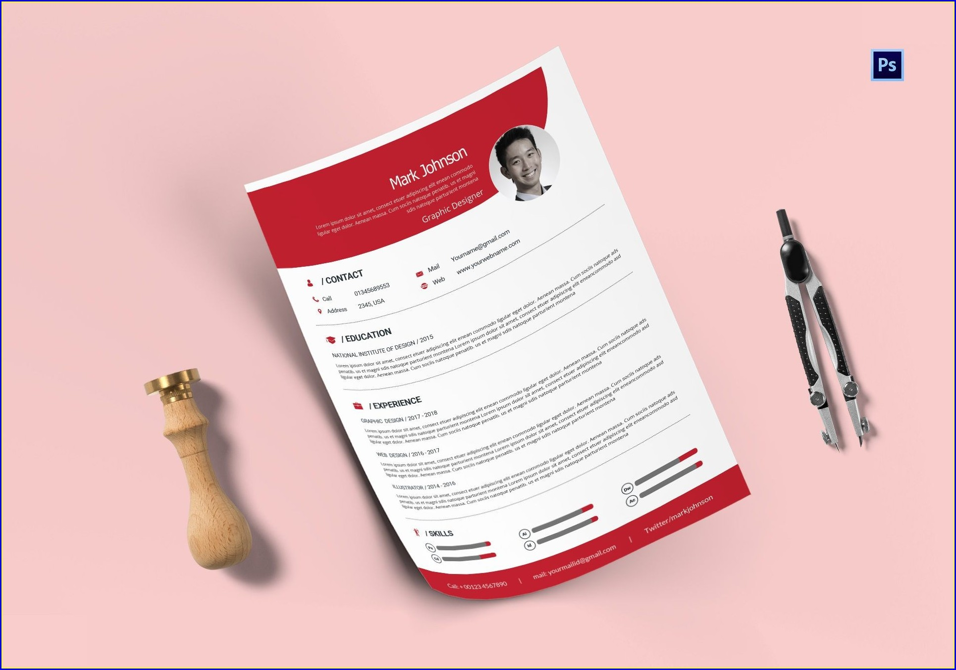 Cv Templates Free Download Word Document 2019