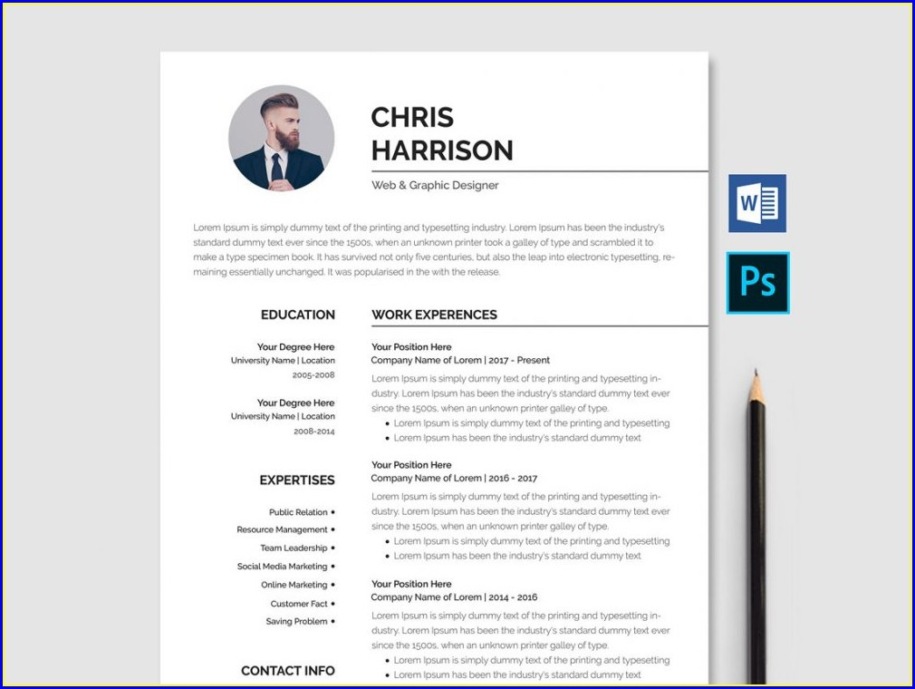 Downloadable Career Portfolio Word Document Downloadable Free Resume Templates