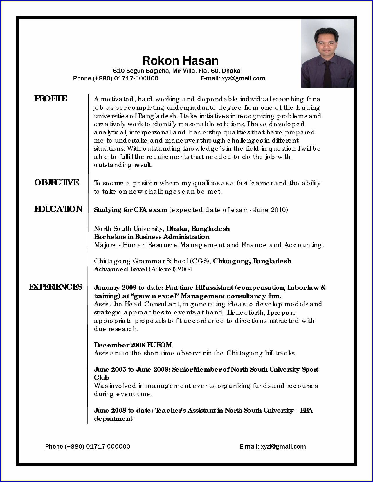 Education Resume Writing Services