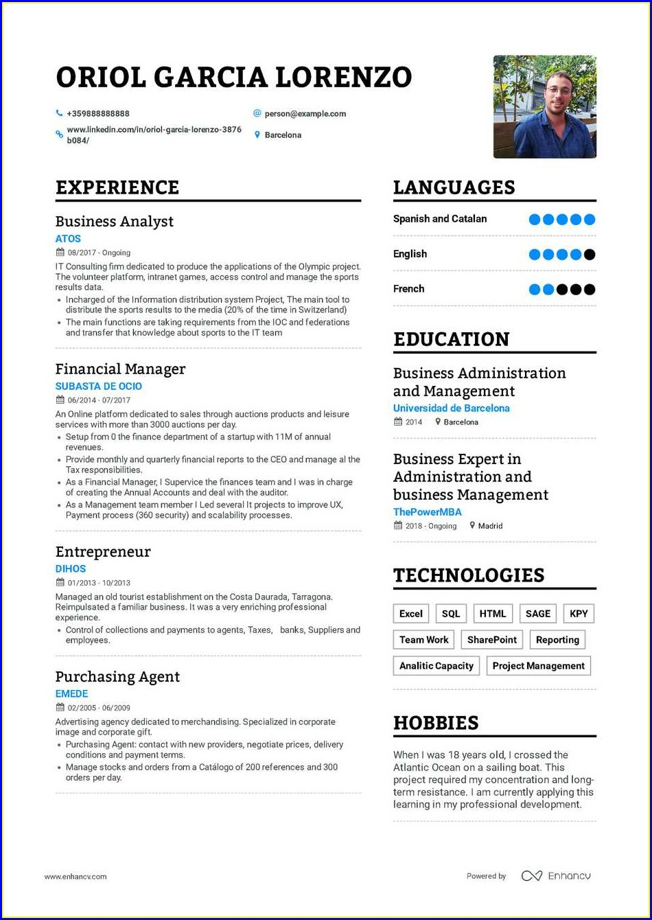 Example Resume Of Construction Worker