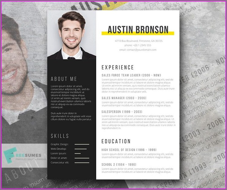 Fill In The Blanks Resume Template