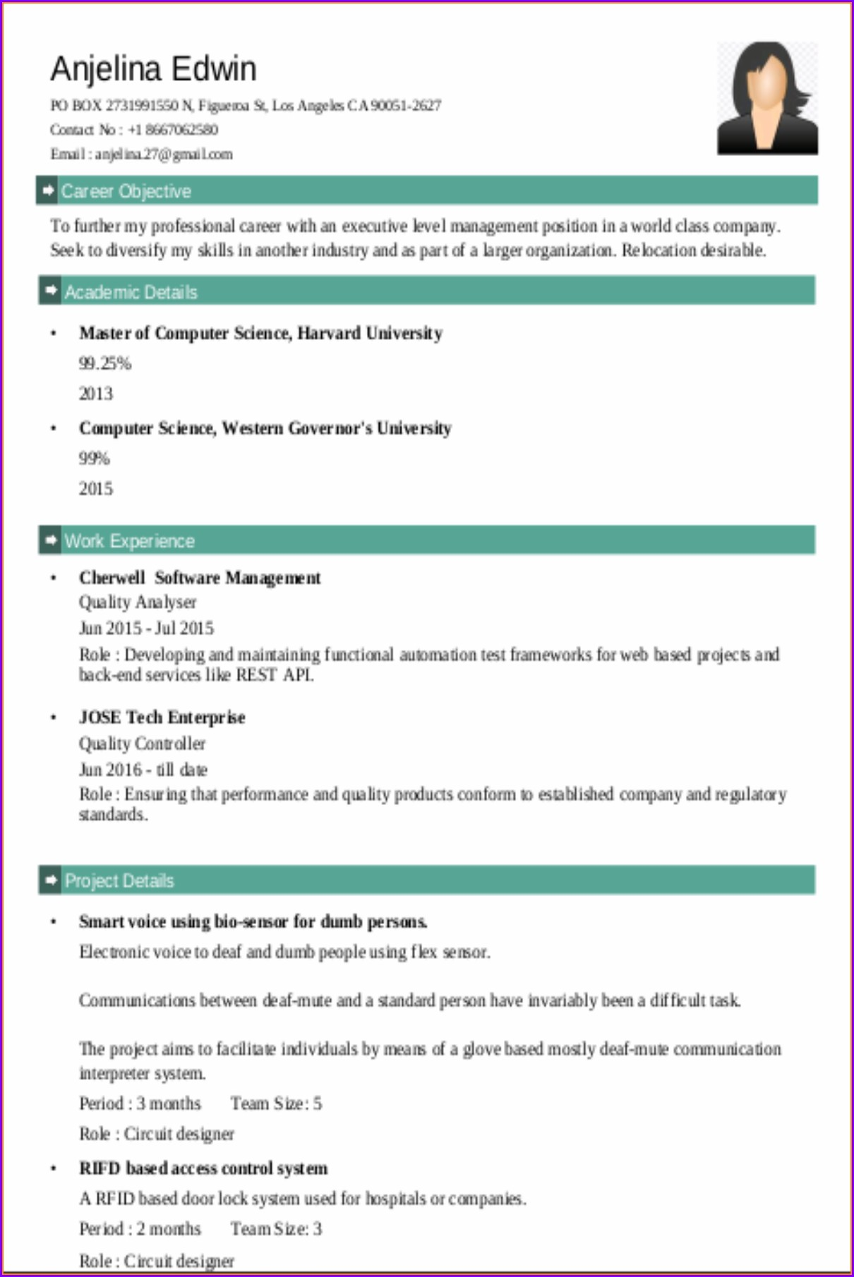 Free Download Resume Builder For Pc
