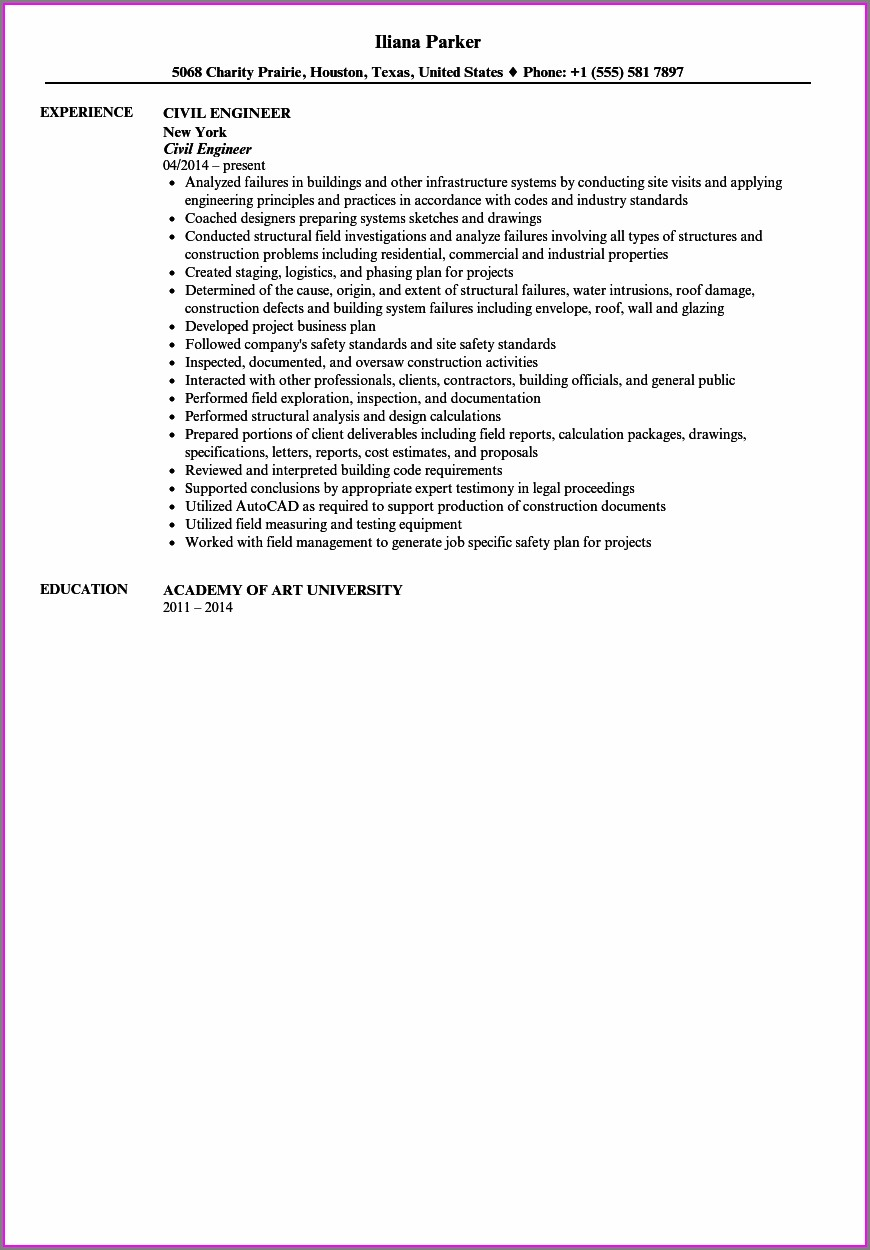 Free Download Resume Samples Pdf
