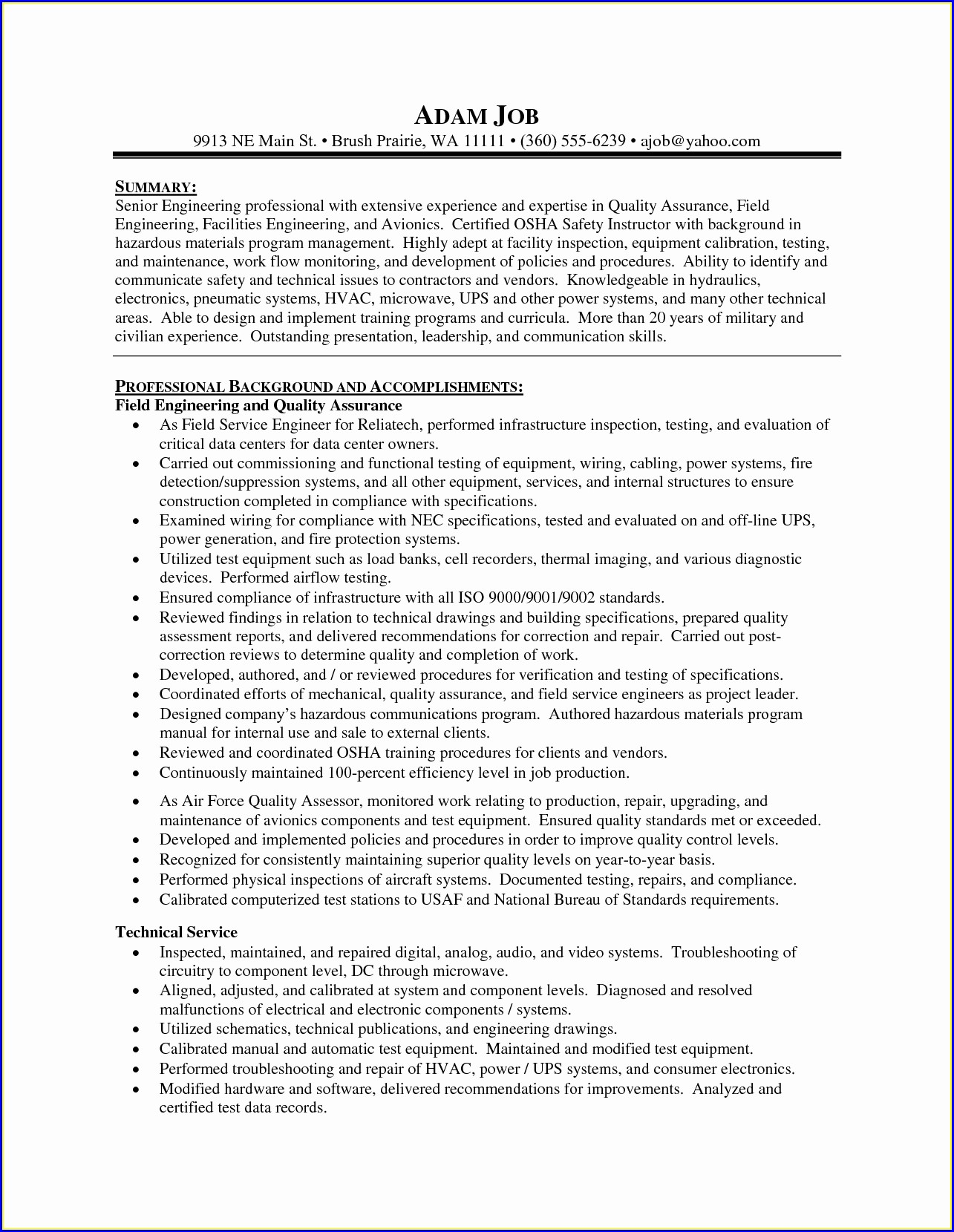 Free Healthcare Administration Resume Samples
