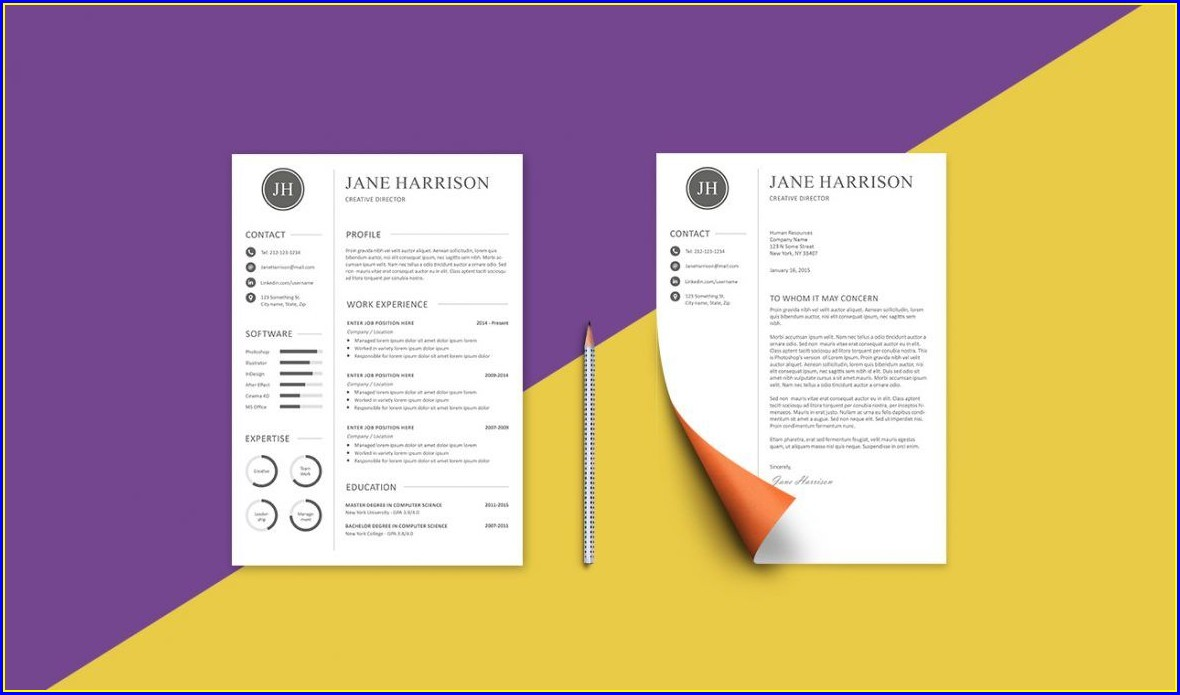 Free Resume And Cover Letter Templates