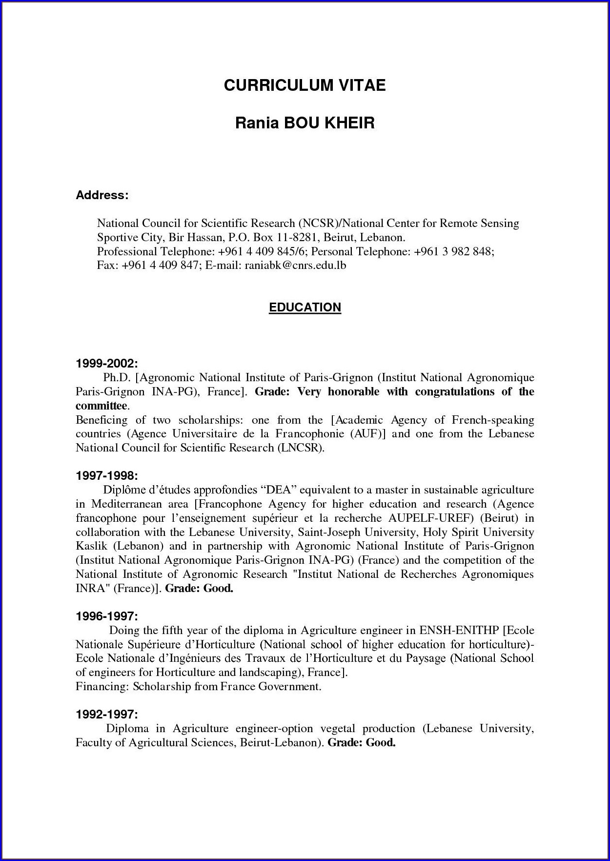 High School Resume Templates For First Job