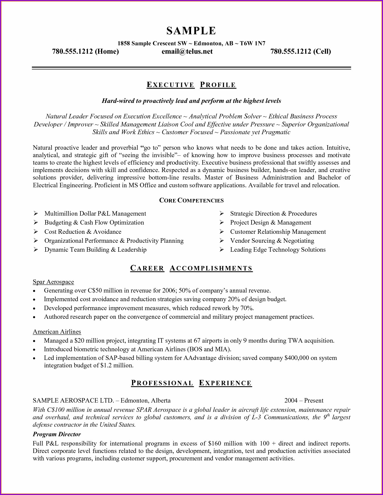 Microsoft Works Resume Templates Free Download