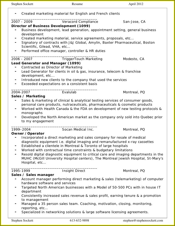 Professional Resume Writing Services Canada