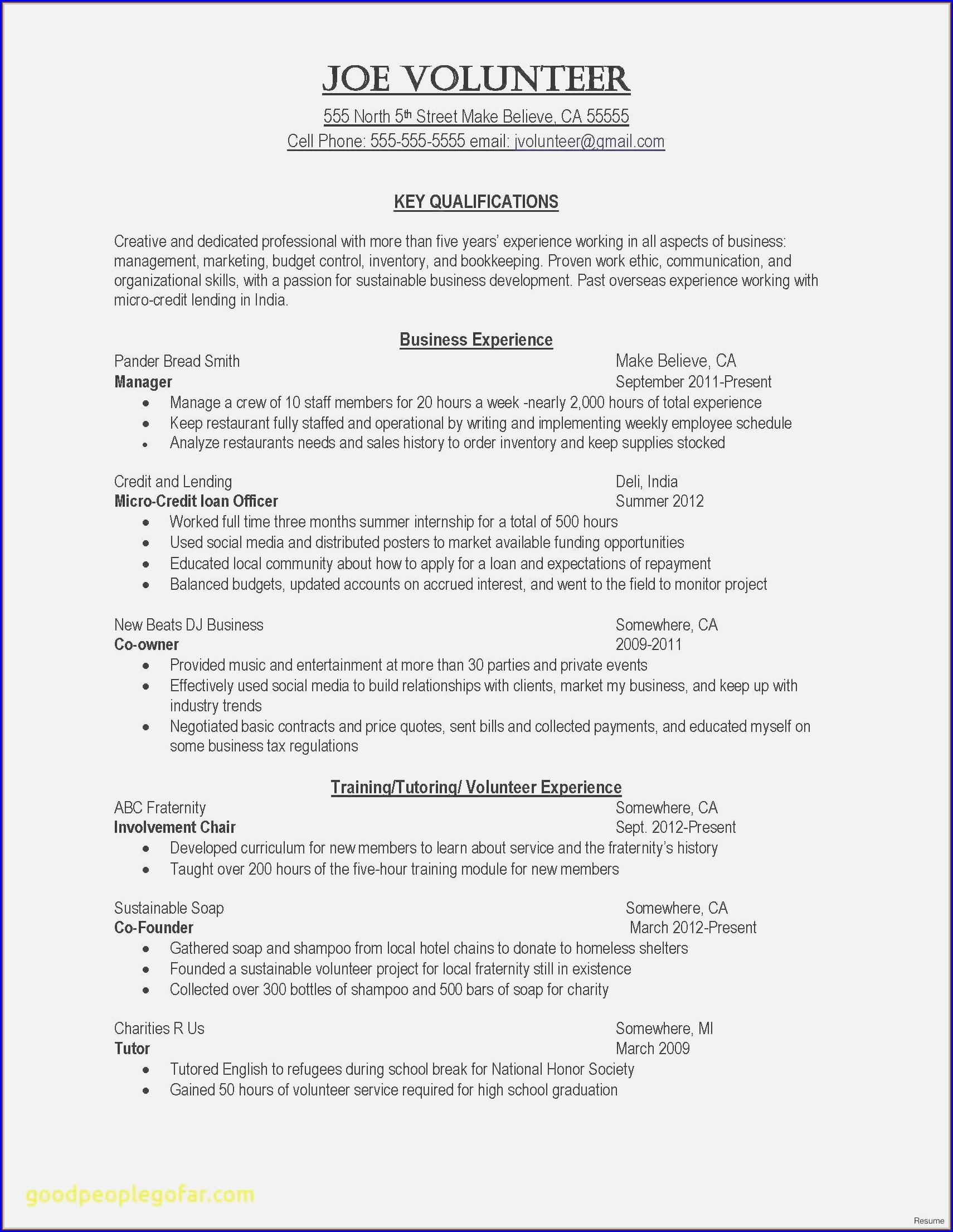 Resume For Director Of Nursing Position