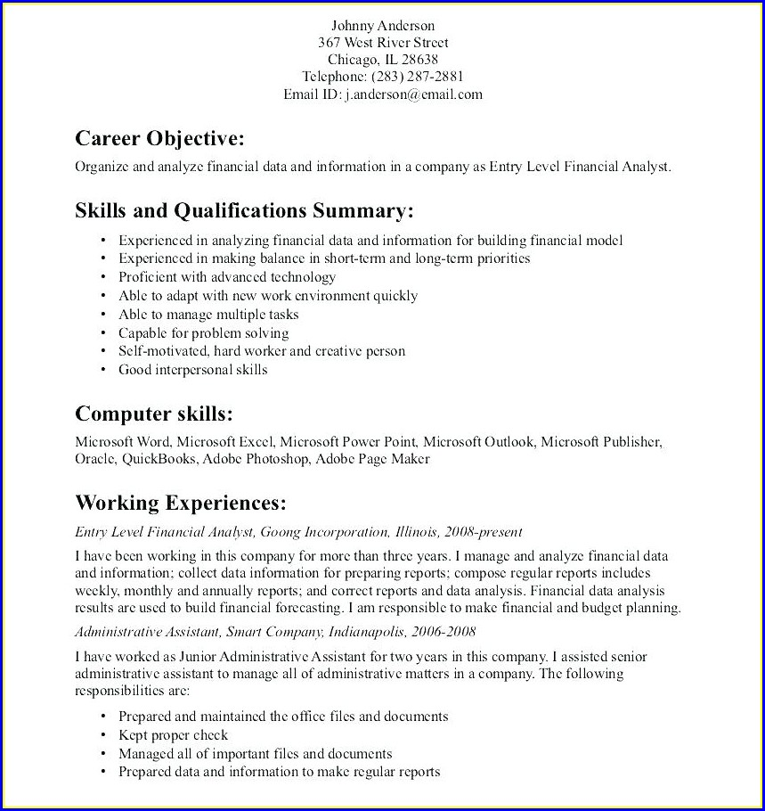 Resume Objective Examples Nursing Student