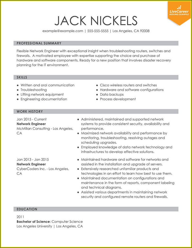 Sample Resume For Teachers Job Doc