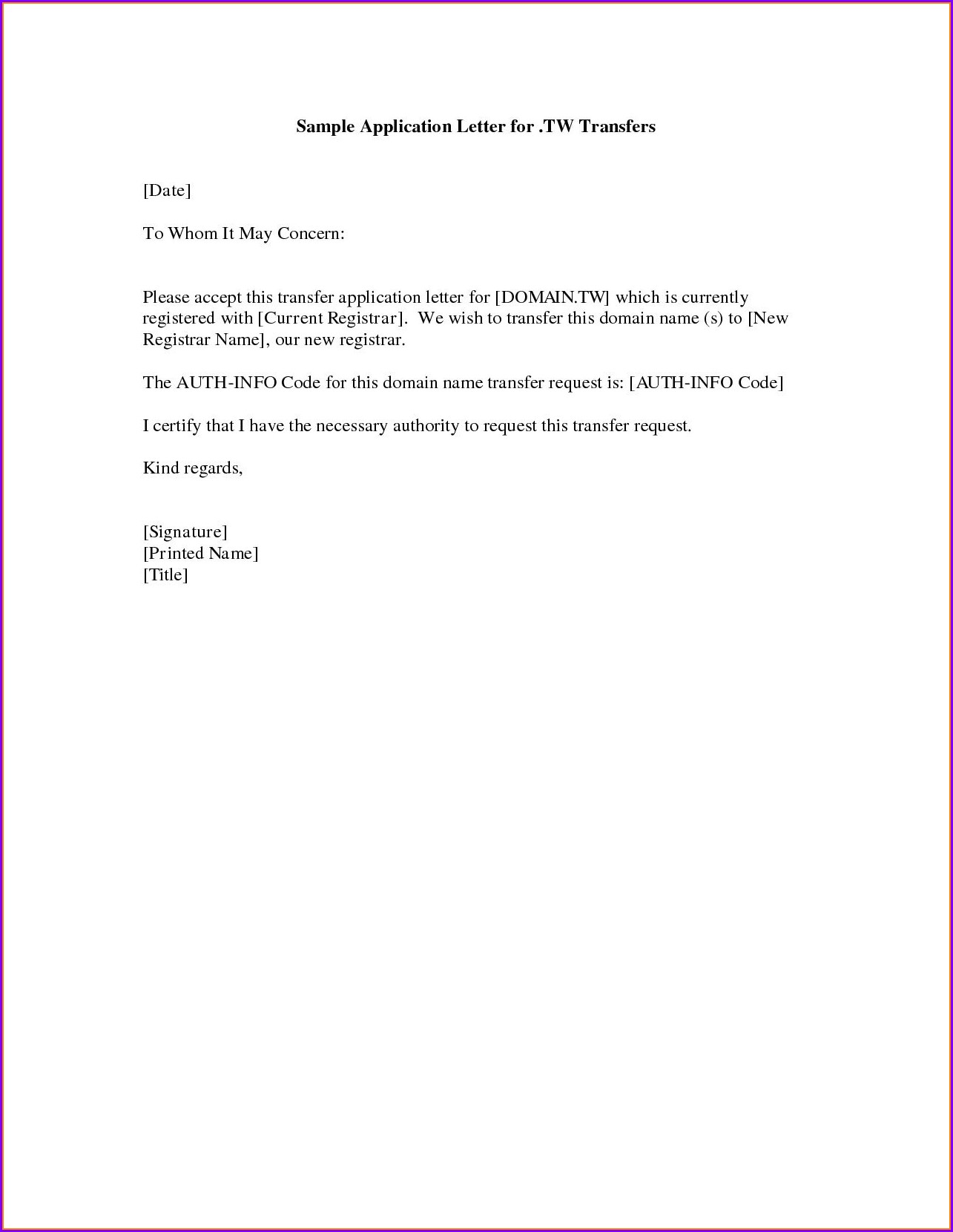 Simple Good Cover Letter Examples For Resumes
