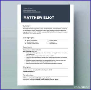 Word Document Microsoft Word Editable Cv Templates Free Download