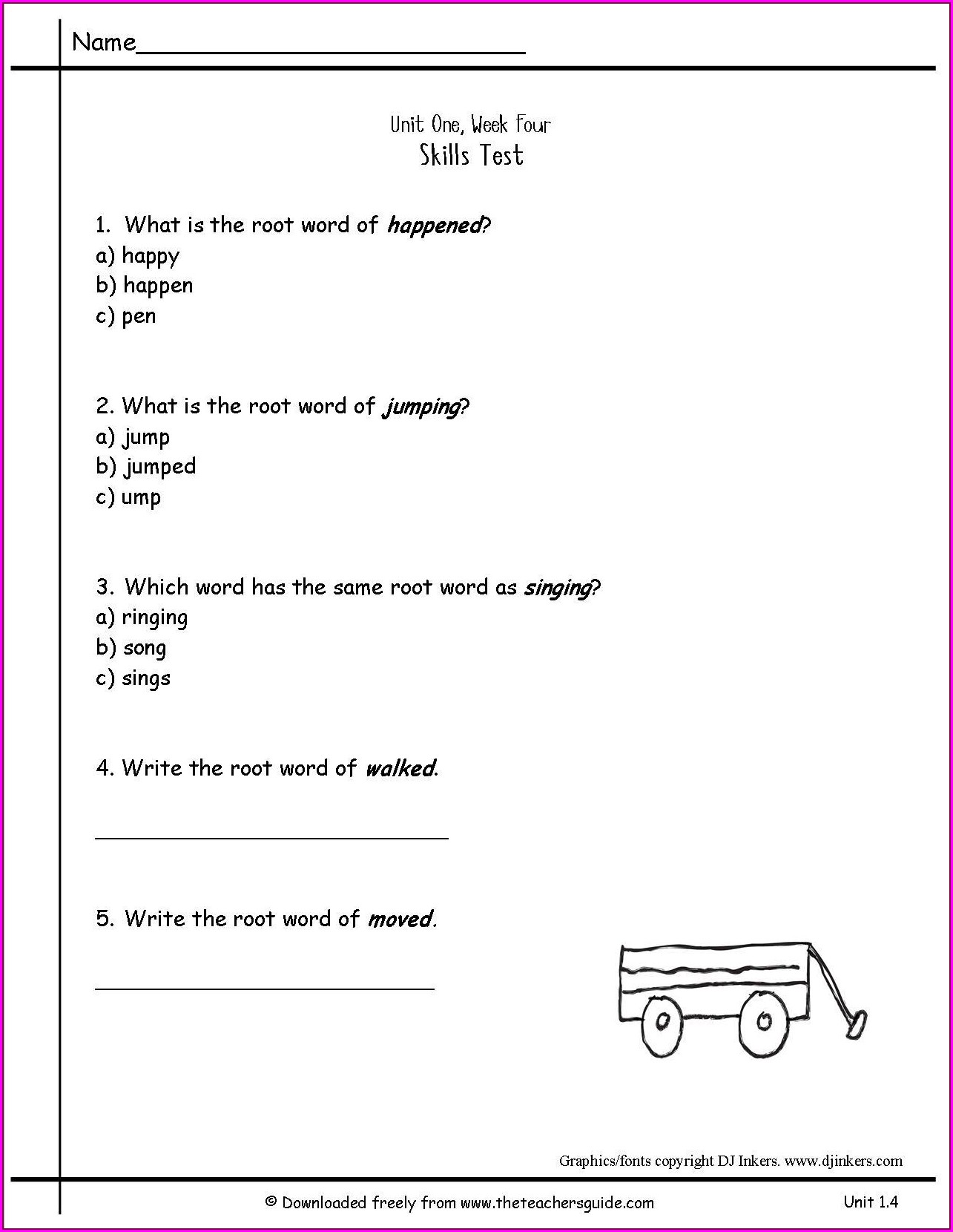 2nd Grade Number Sequence Worksheets