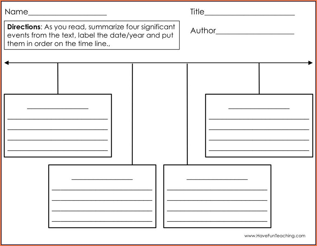 3rd Grade 2nd Grade Timeline Worksheets