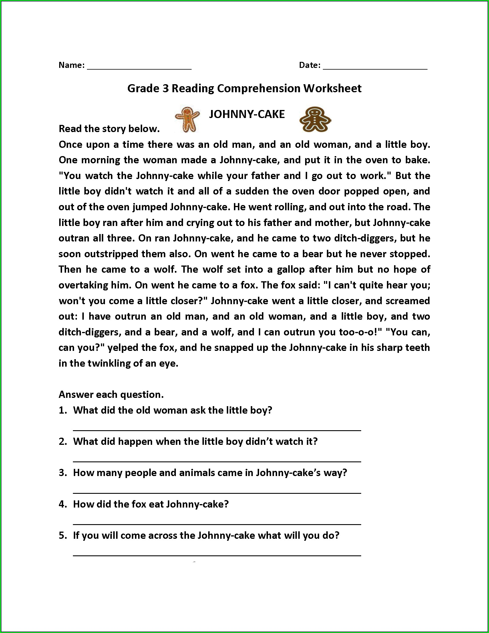 3rd Grade Dyslexia Spelling Worksheets