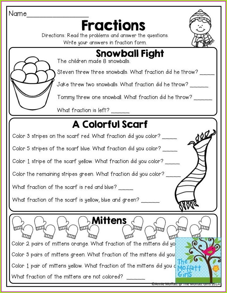 4th Grade Equivalent Fractions Word Problems Worksheet