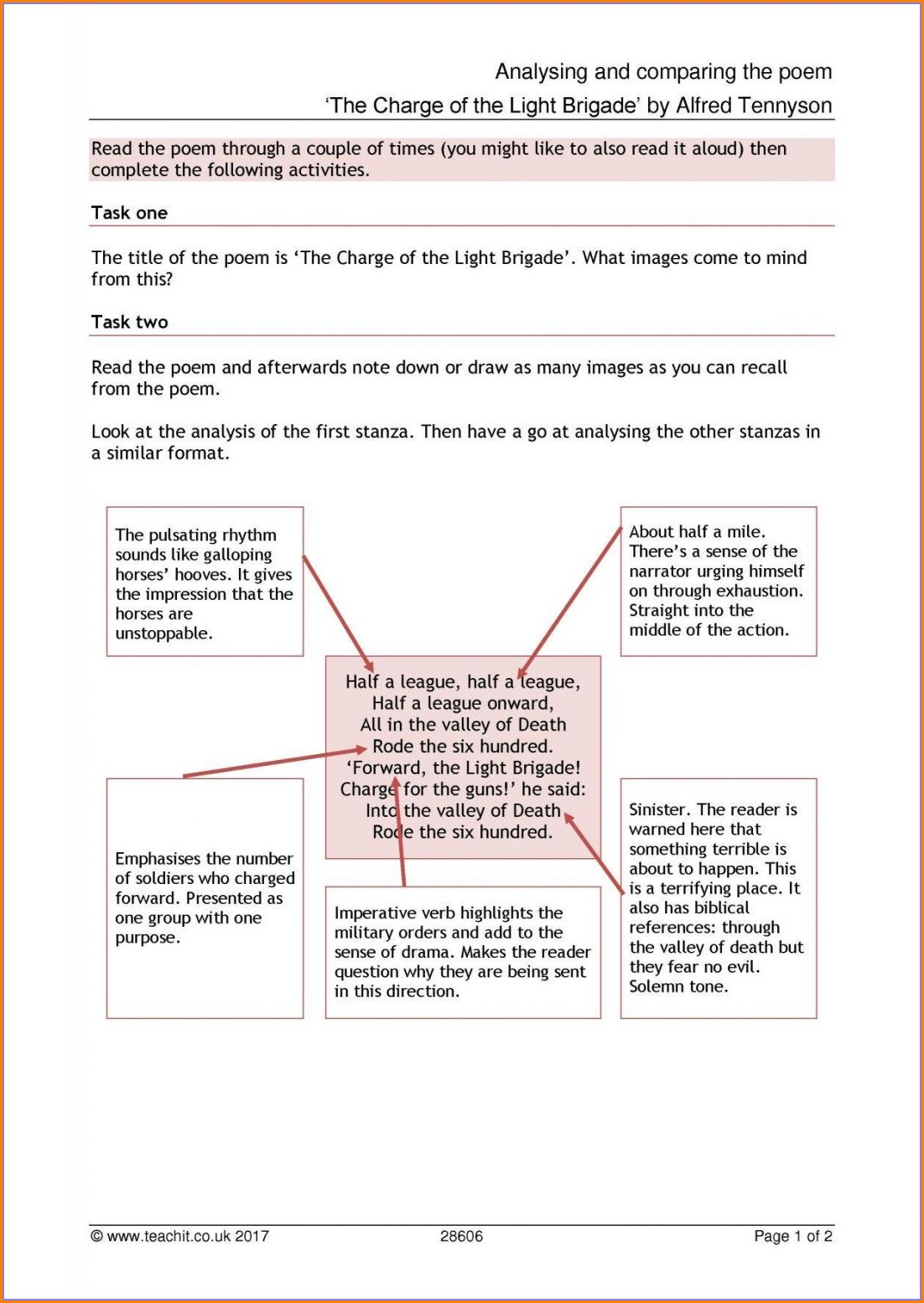5th Grade Figurative Language Worksheet