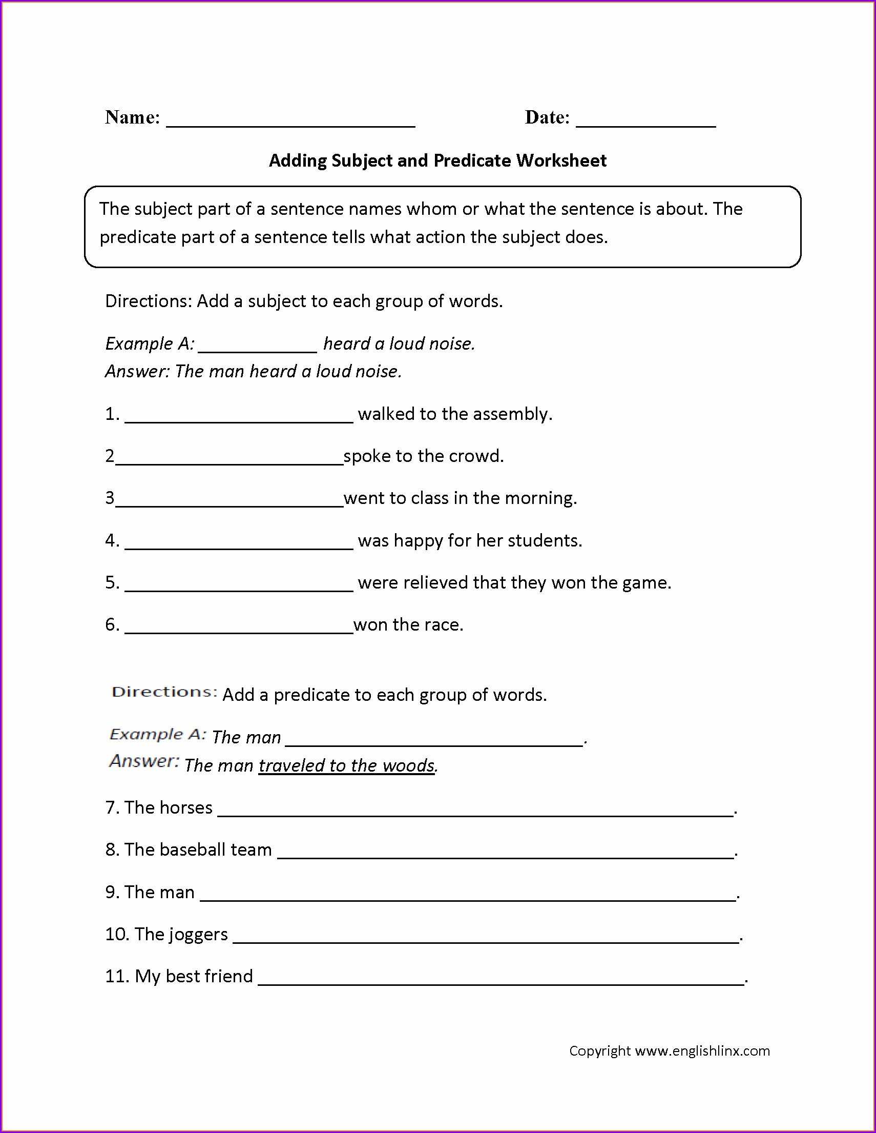 9th Grade English Grammar Worksheets Pdf