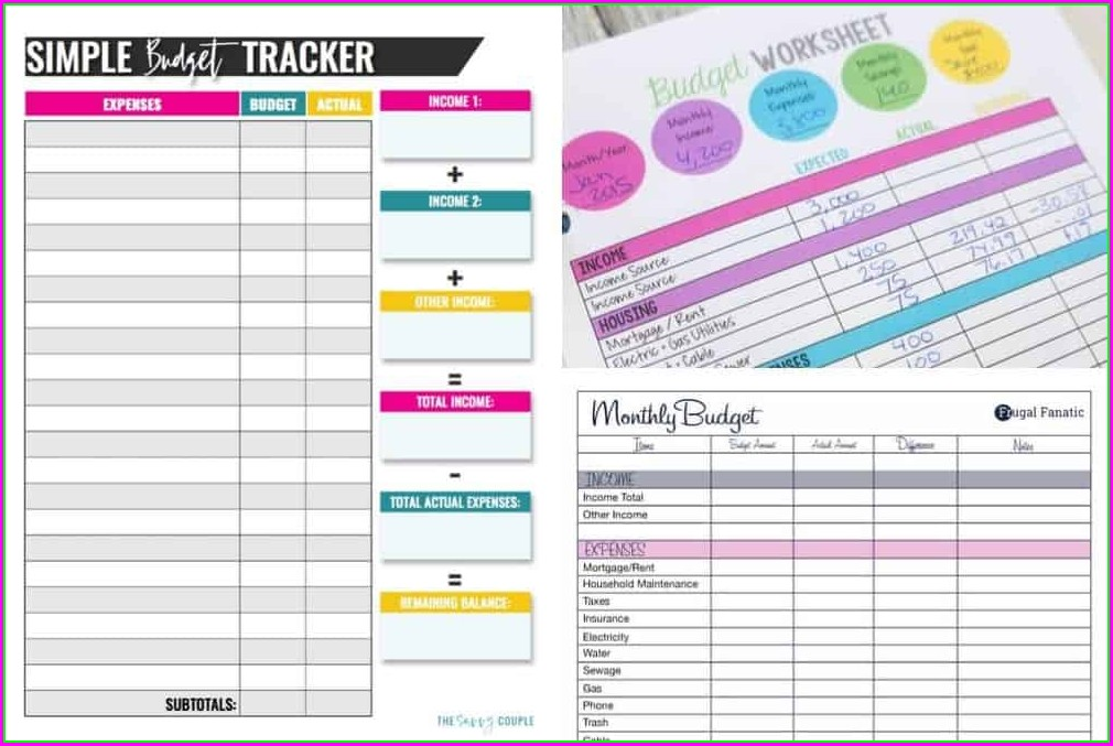 Beginner Printable Budget Worksheet Dave Ramsey Budget Sheet Pdf