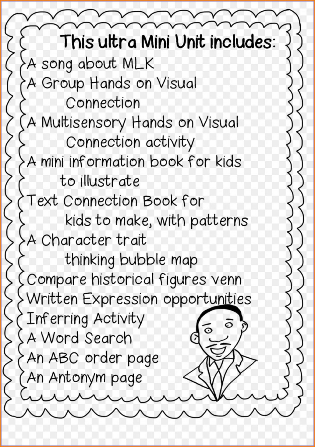 Black History Month Childrens Worksheets