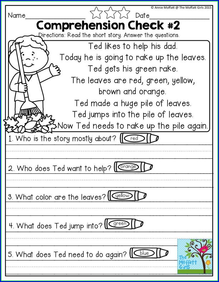 Black History Month Reading Comprehension Worksheets Free