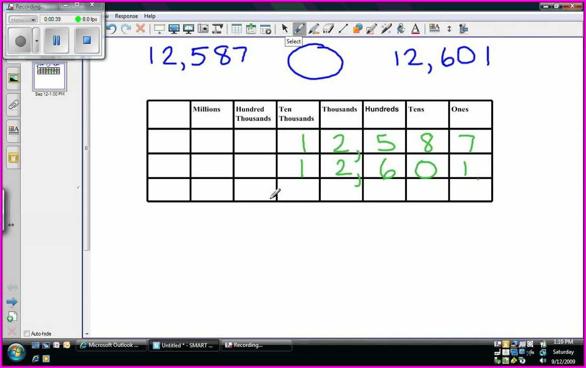 Comparing And Ordering Numbers Worksheets