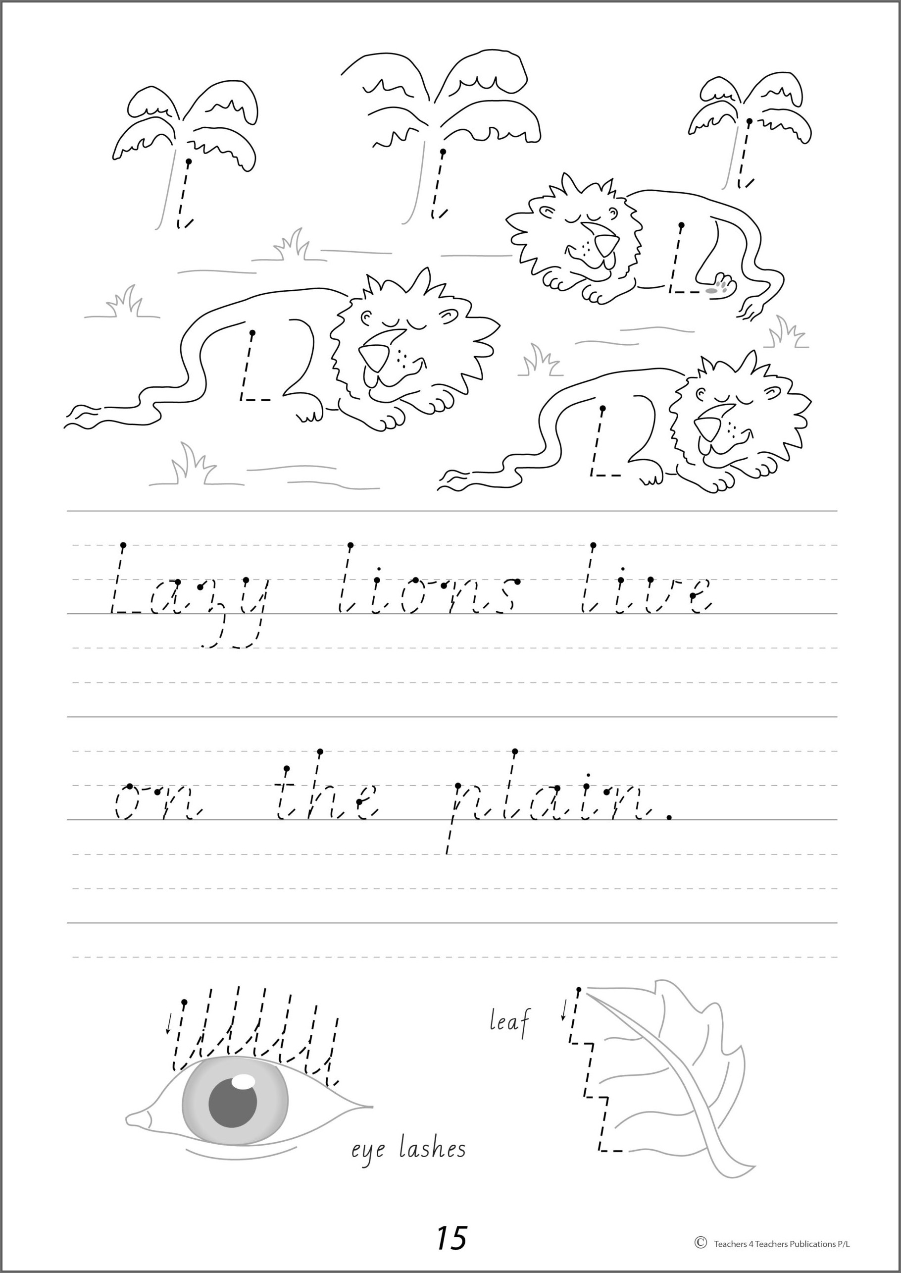Cursive Writing For Kindergarten Worksheet Pdf
