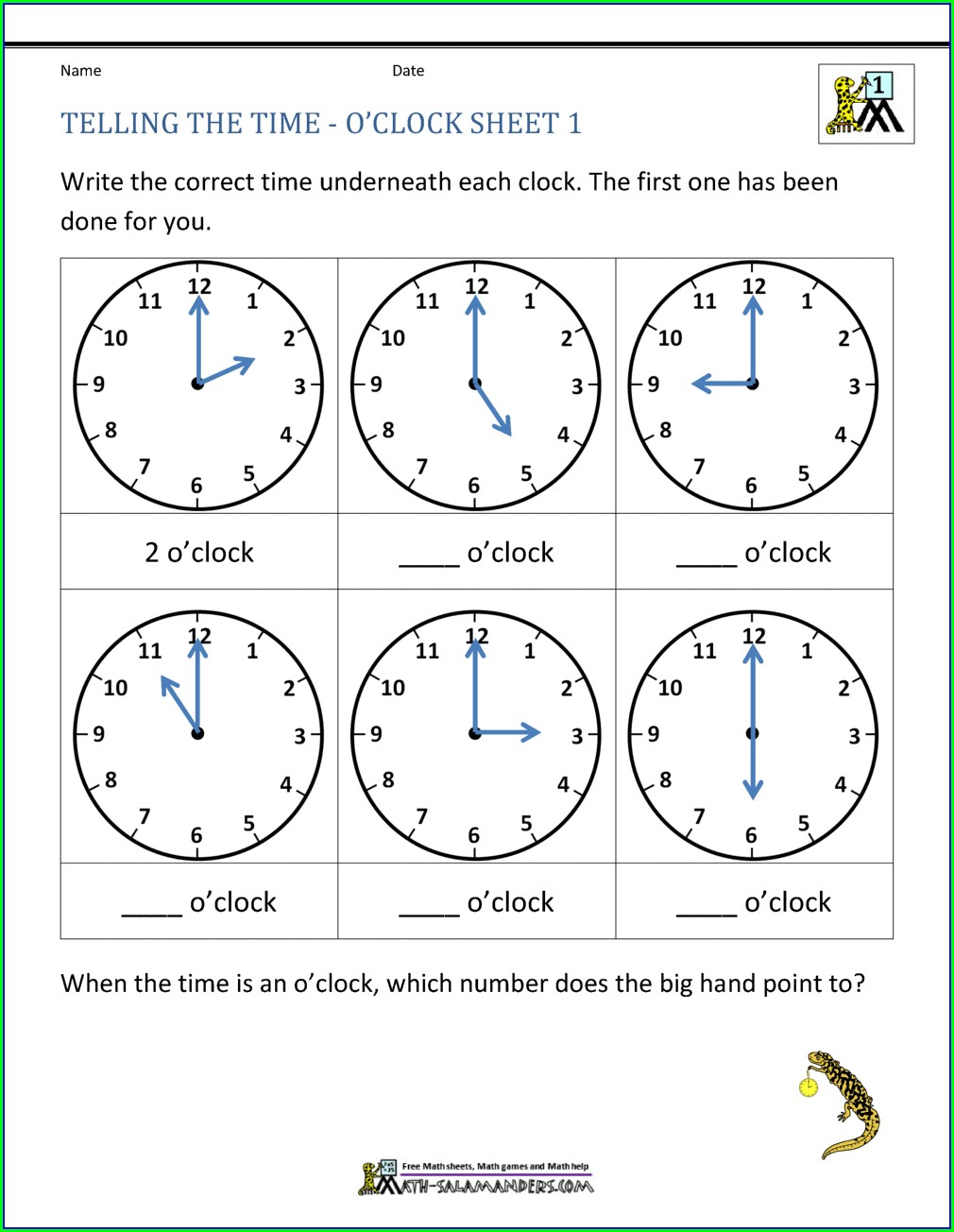 Esl Telling Time Worksheets Pdf