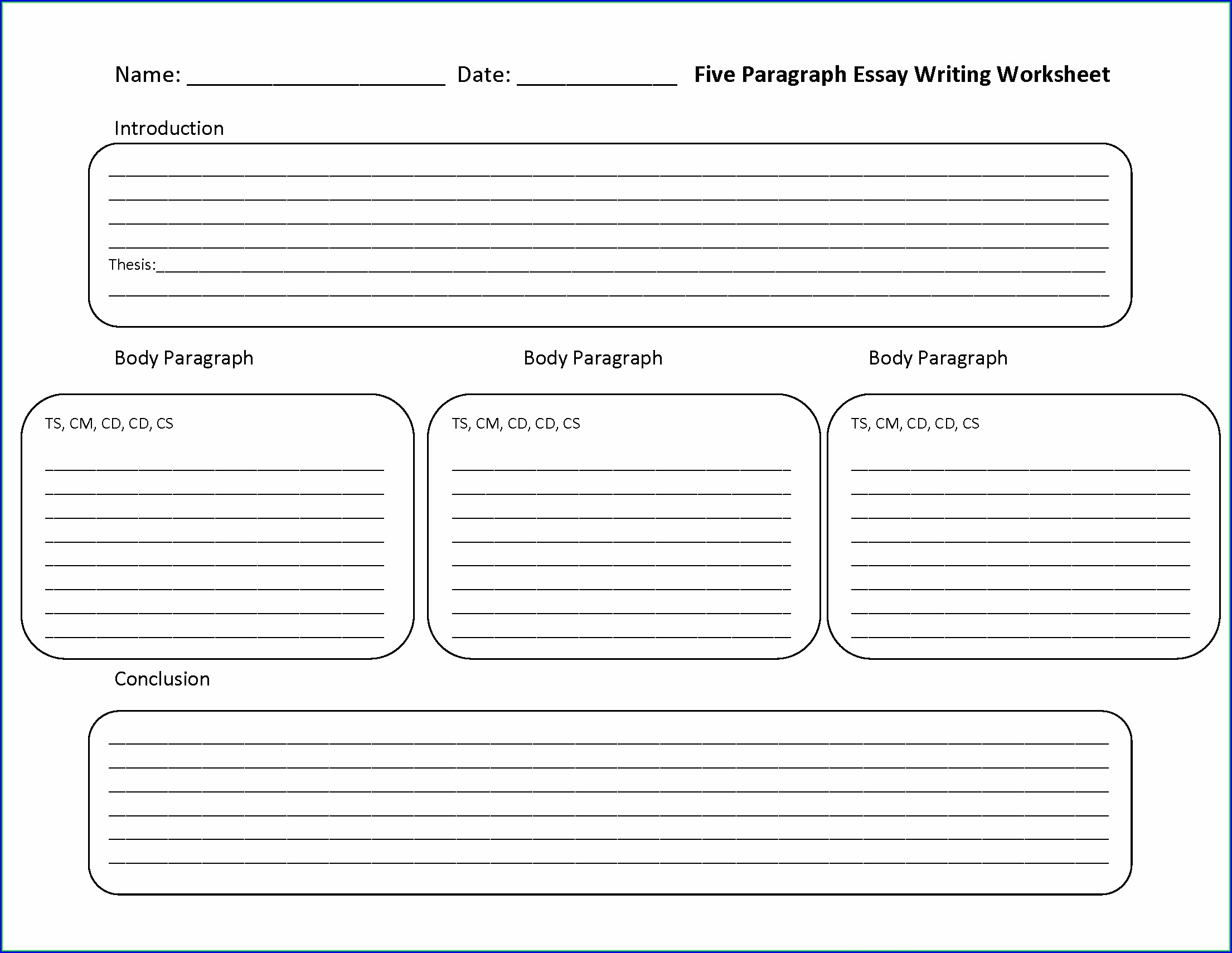Esl Writing Worksheet Pdf