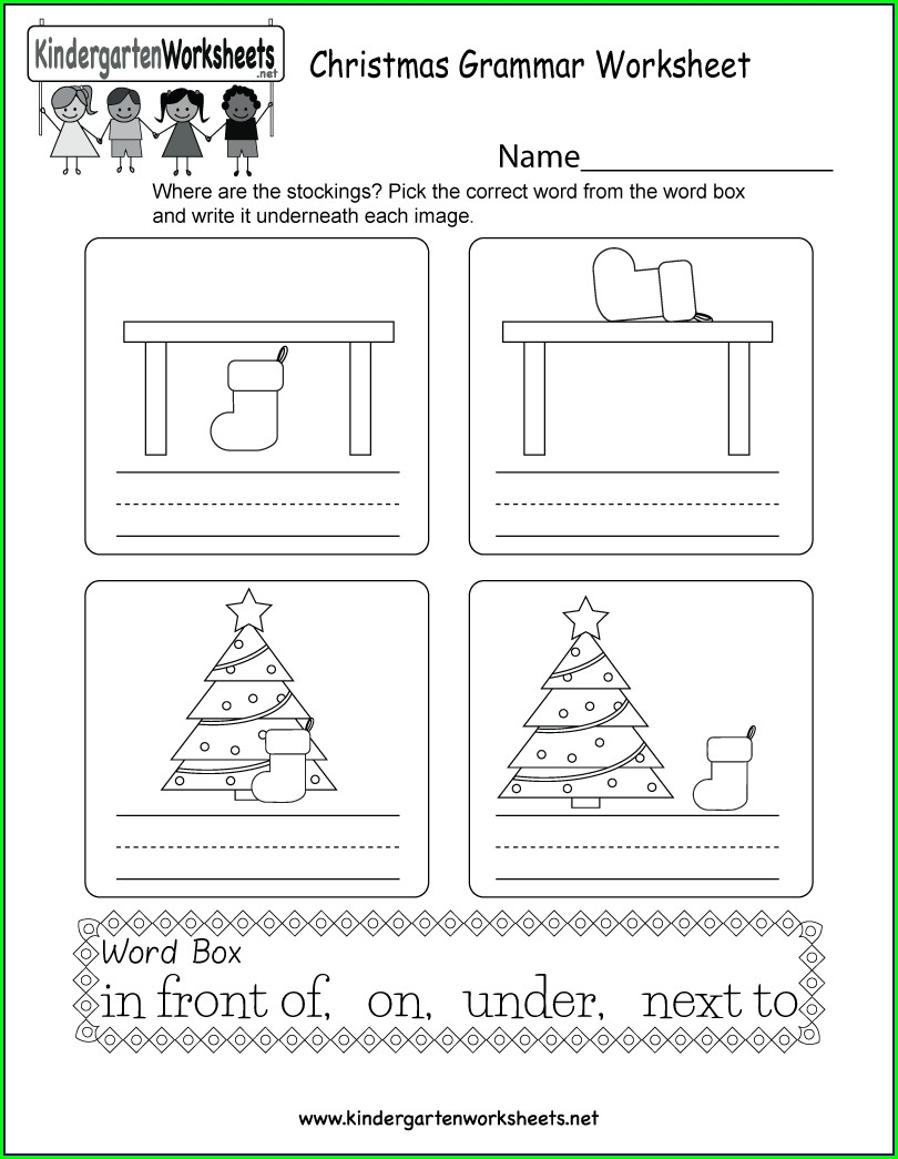 Et Word Family Worksheets For Kindergarten