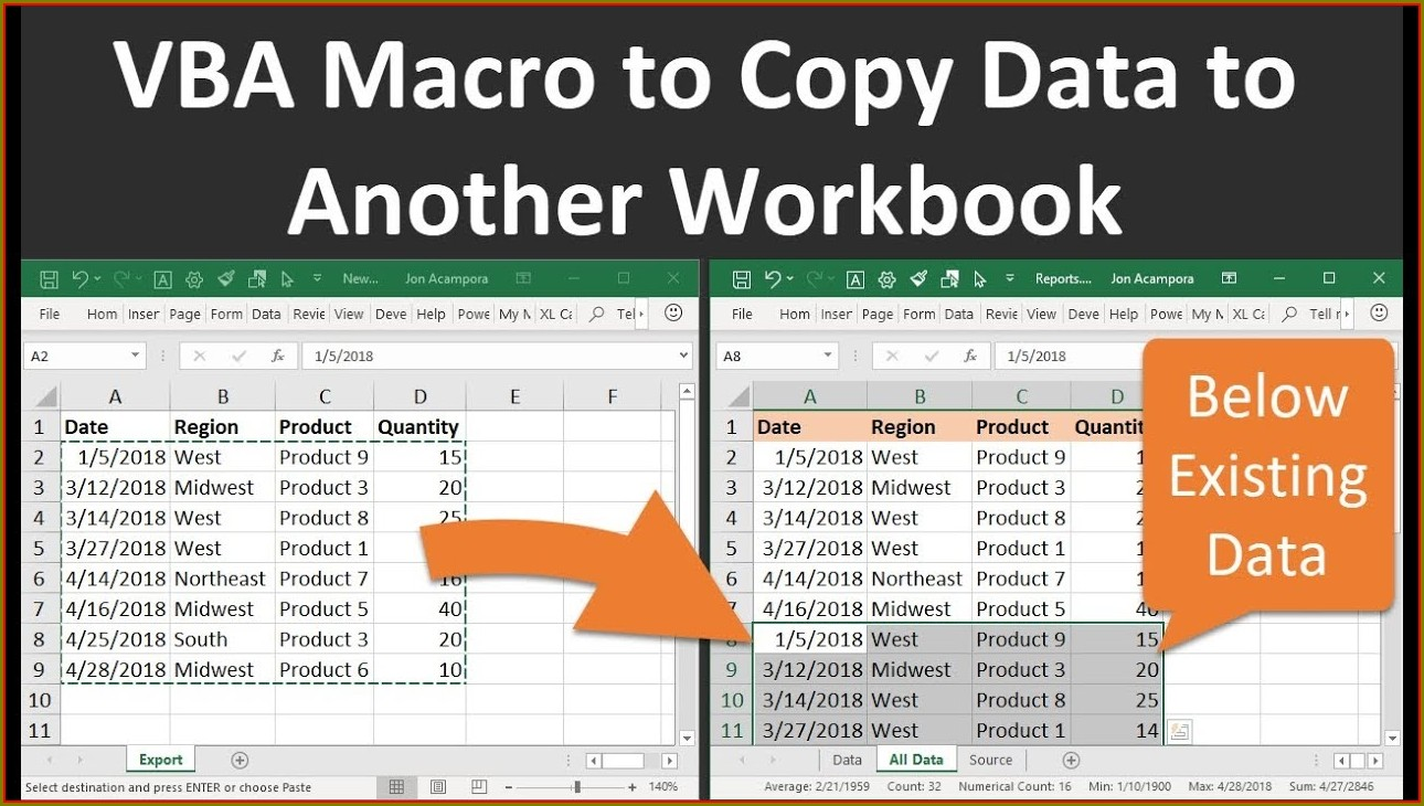 Excel Vba Copy One Worksheet To Another Workbook